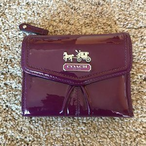 Coach- Patent Leather Wallet